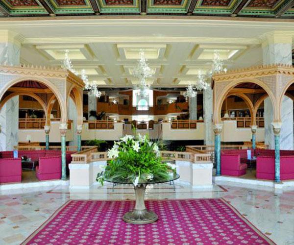 H tel hasdrubal thalassa spa yasmine hammamet vacances for Salon 5 etoiles tunisie