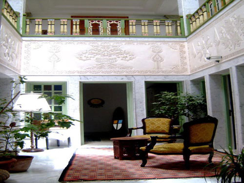 Chambre d 39 hotes dar boumakhlouf kef vacances promo tunisie for Meuble 5 etoiles tunis